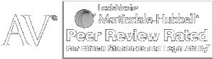 AV | LexisNexis Martindale-Hubbell | Peer Review Rated for Ethical Standards and Legal Ability