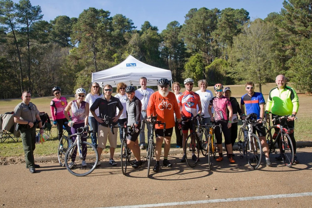Group photo from the Koz and back 112 mile bike ride event