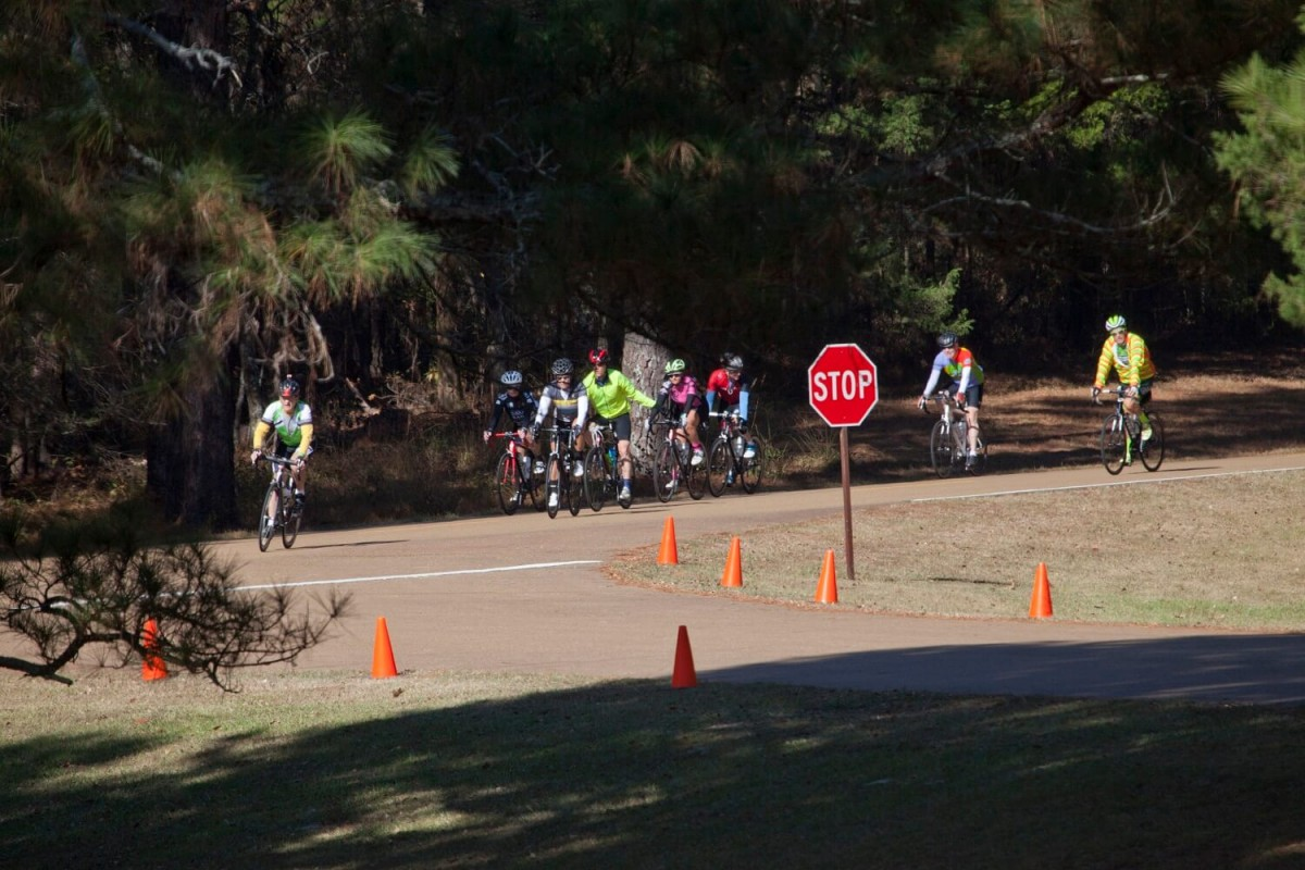 Bicyclist event, riding 112 miles